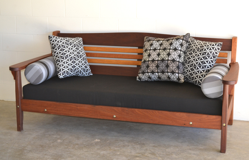 Modern daybed recycled Australian timber