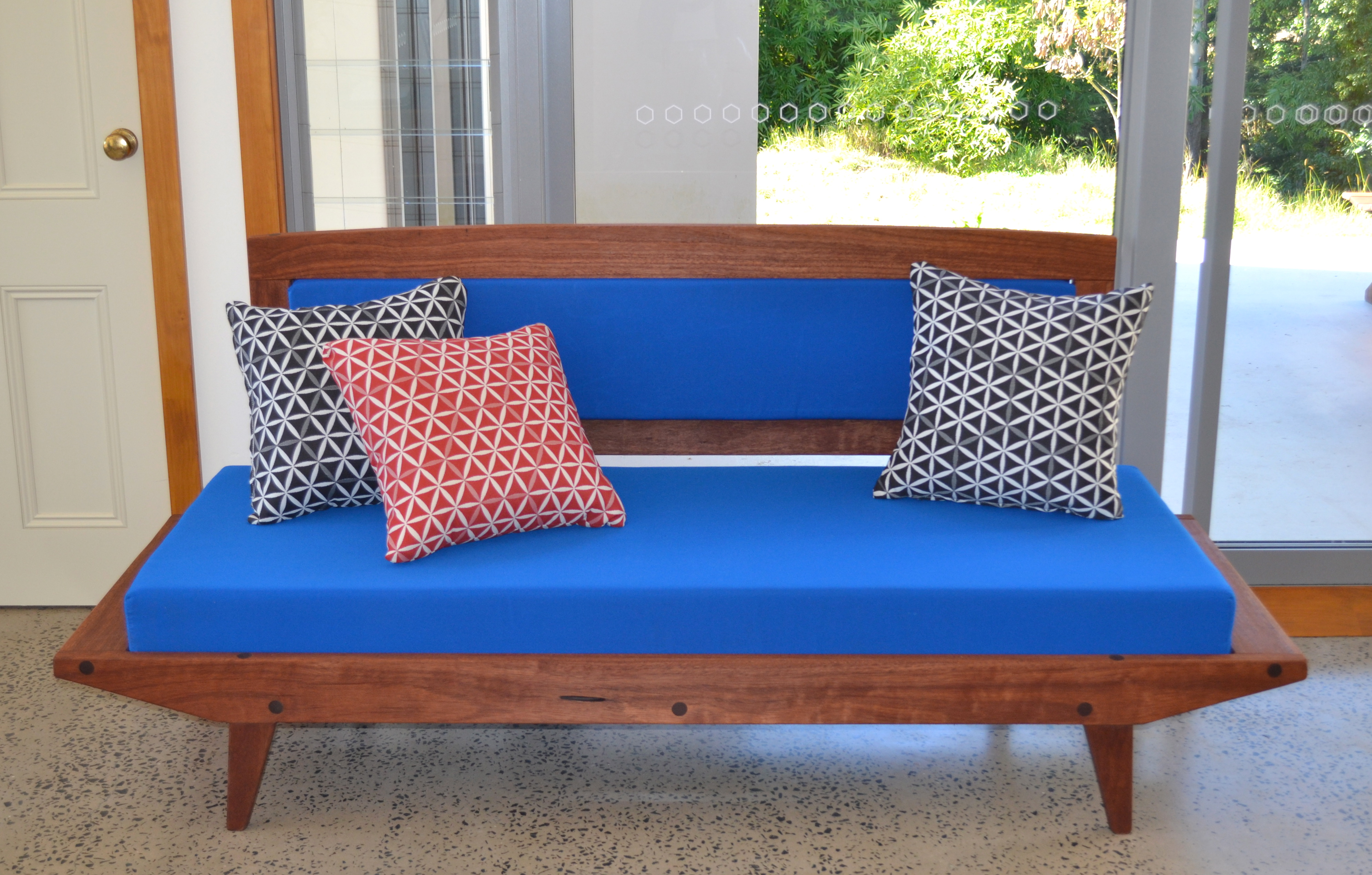 Retro daybed recycled Australian timber